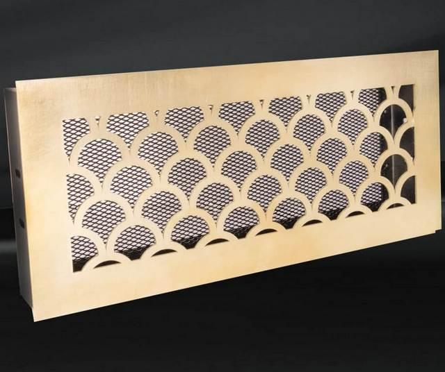 Решетки вентиляционные латунные