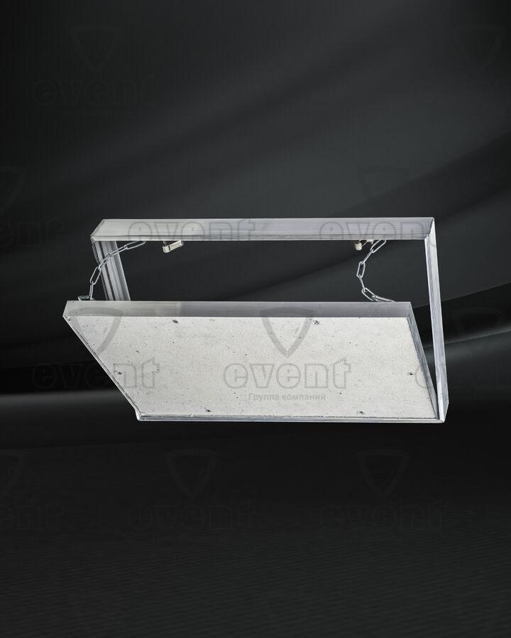 Люк ревизионный под плитку съемный с цепочкой Event ЛКЦ