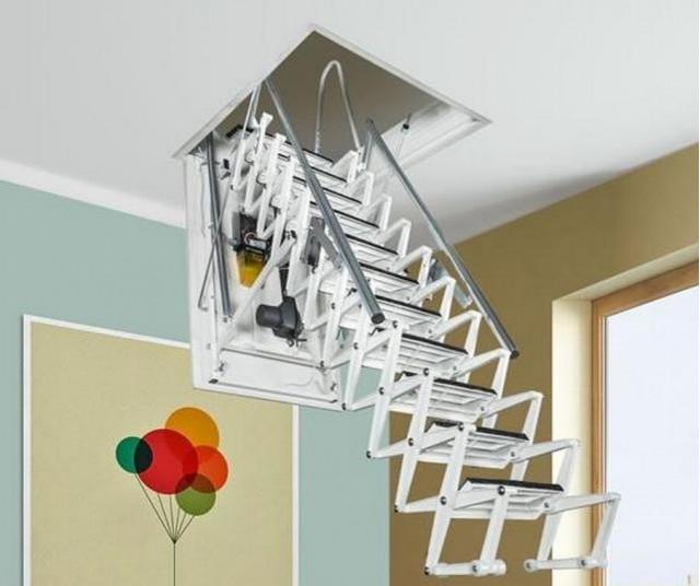 Лестницы автоматические