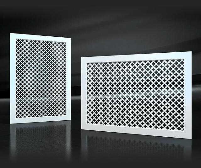 Решетки вентиляционные стальные