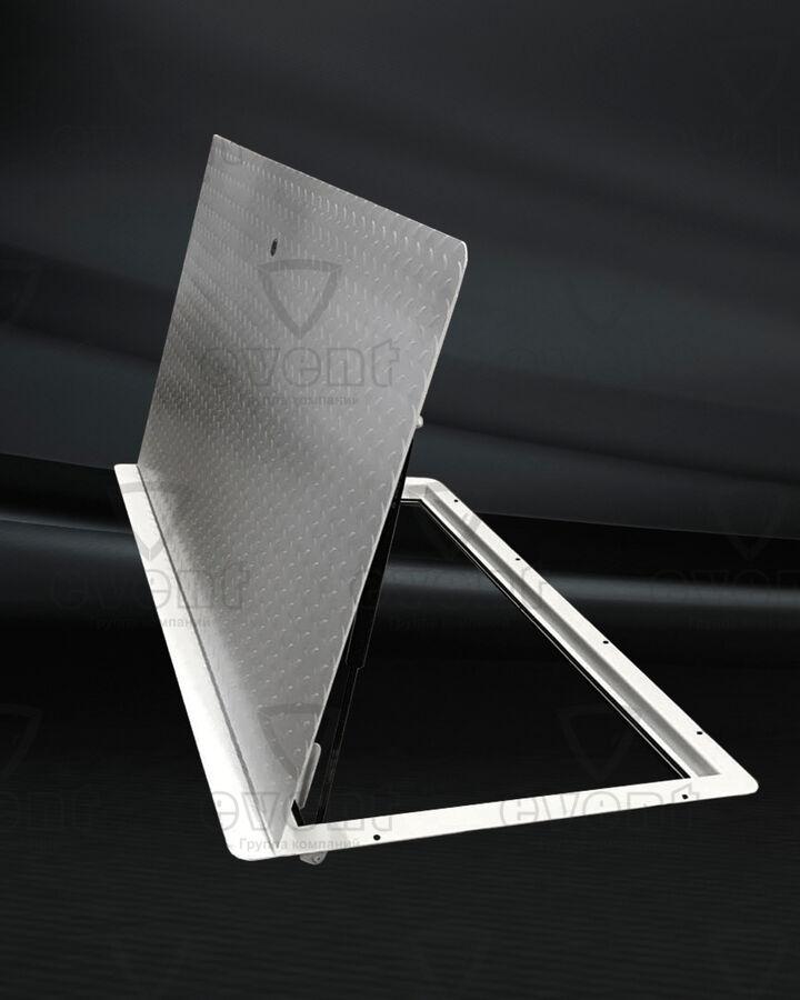 Люк напольный стальной с рифленым листом Event ЛНСР