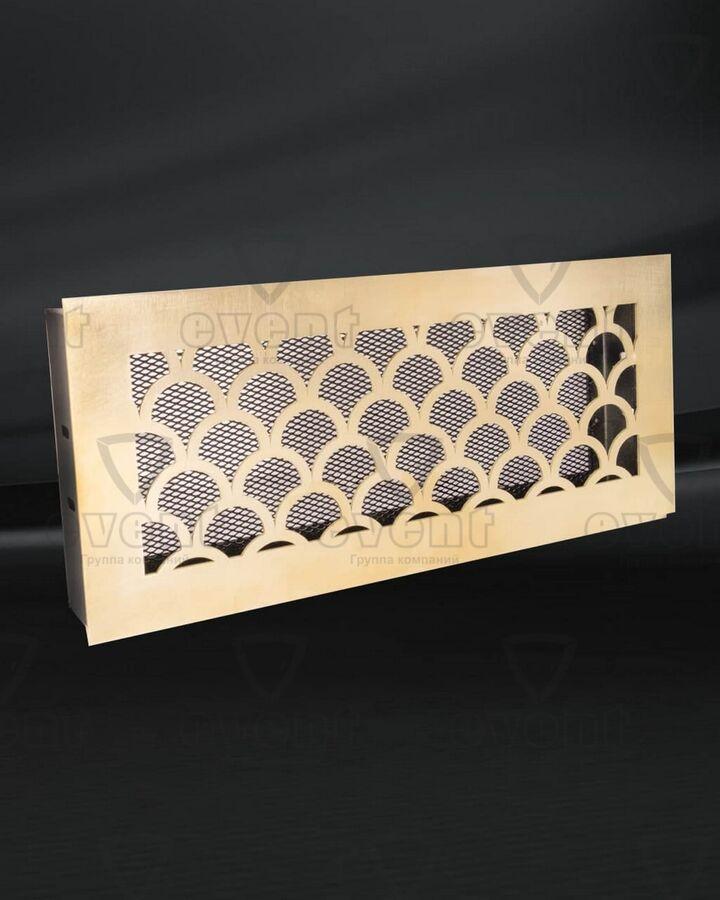 Декоративные металлические решетки из латуни